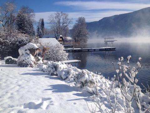Winter am Ossiacher See