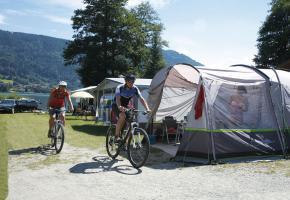 Campingurlaub mit Fahrrad