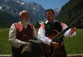 Sepp Forcher und Robert Fritzer