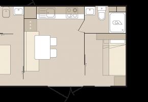 Skizze See-Lodge