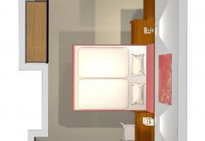 Skizze Doppelzimmer TYP B