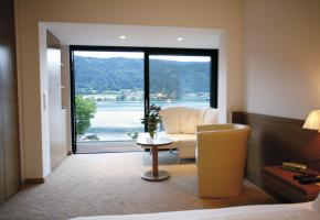 Ausblick Doppelzimmer TYP B Haupthaus
