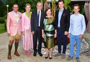 Besuch des österreichischen Bundespräsidenten
