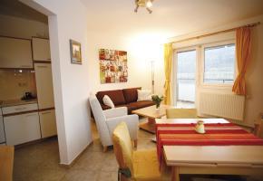 Küche und Esszimmer Appartement