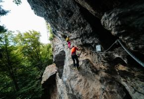 Klettern Peterlewand