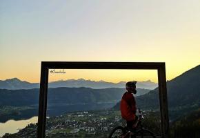 Mountainbiken am Ossiacher See