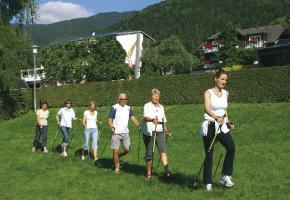 Nordic Walking mit Eva